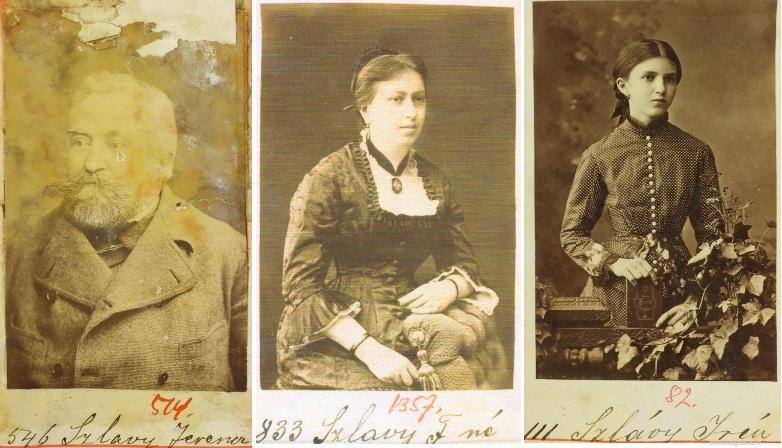 Újabb képek, adatok a Szlávy családról