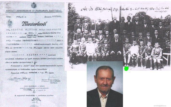 Giczei Sándor cipész (1919 – 2003)