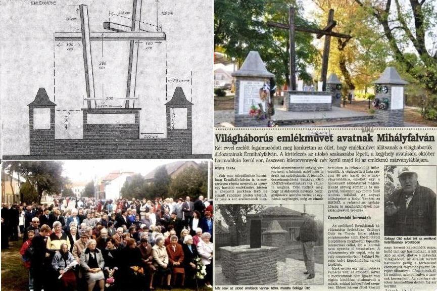 A XX. század hőseinek és áldozatainak emlékműve