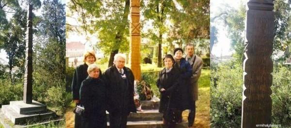 Millenniumi kopjafa, Barót város ajándéka